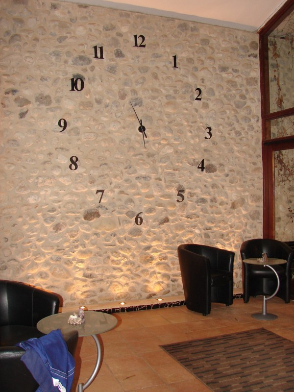 Les creations d 39 isabelle habillage d 39 un mur sympa for Decoration de mur interieur